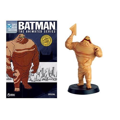 Batman: The Animated Series Clayface Statue Special with Collector Magazine #1