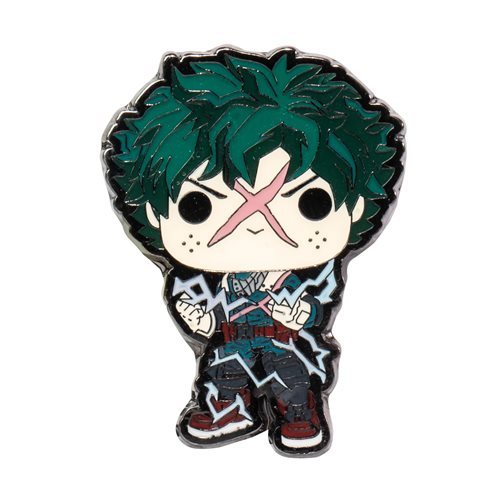 My Hero Academia Deku Full Cowl Pop! Pin - EE Exclusive