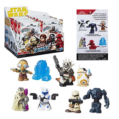Star Wars Micro Force Mini-Figures Wave 5 Case