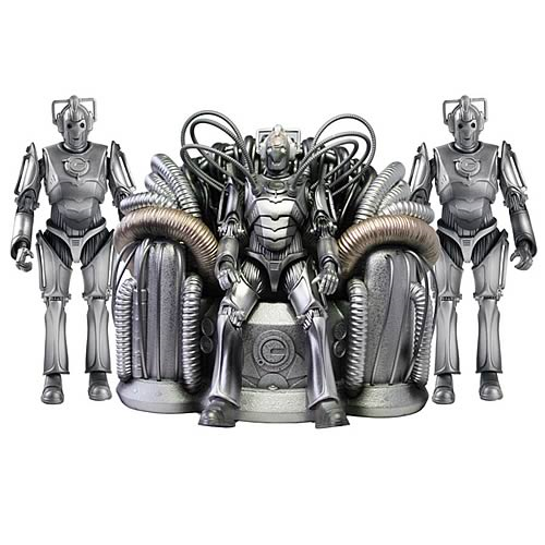 Doctor Who Cyber Controller with Guards Action Figures