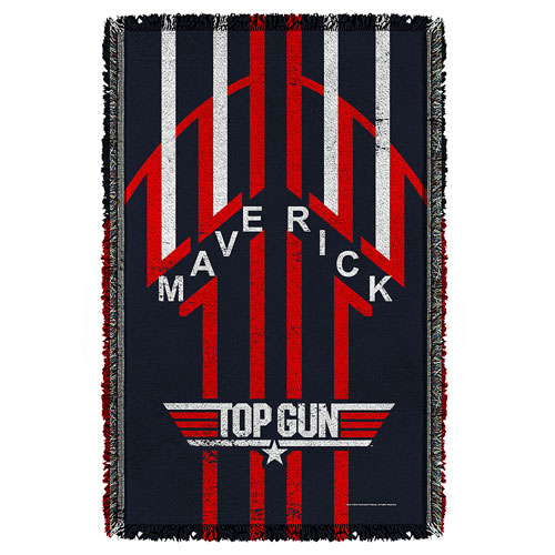 Top Gun Maverick Woven Tapestry Throw Blanket
