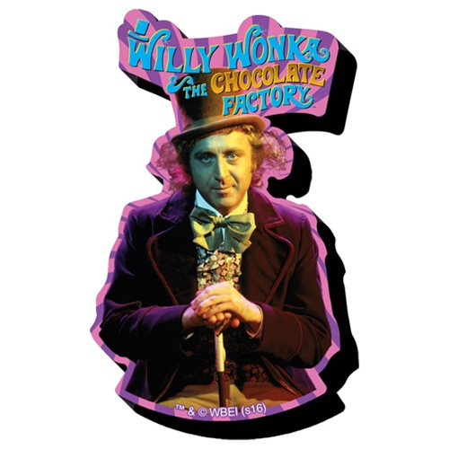 Willy Wonka and the Chocolate Factory Swirl Funky Chunky Magnet