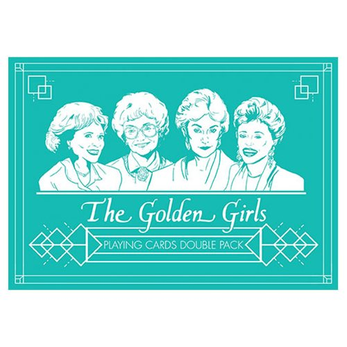 The Golden Girls Playing Cards Set