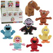 Sesame Street 50th Anniversary Blind-Box Plush Display Case