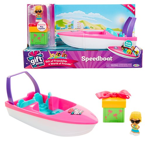 Gift 'Ems Speed Boat Playset