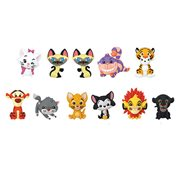 Disney Series 19 Cats Figural Key Chain Display Case