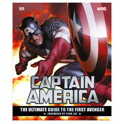 Marvel's Captain America: The Ultimate Guide to the First Avenger Hardcover Book