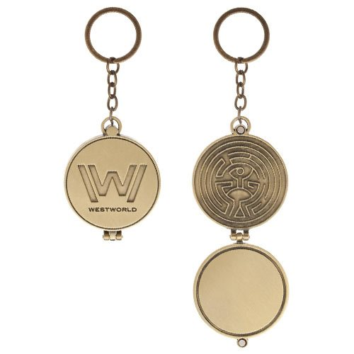 Westworld Logo Metal Key Chain