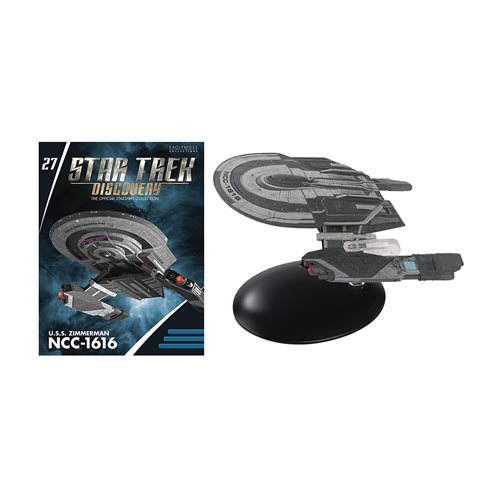 Star Trek Starships Federation Tug Ship with Collector Magazine