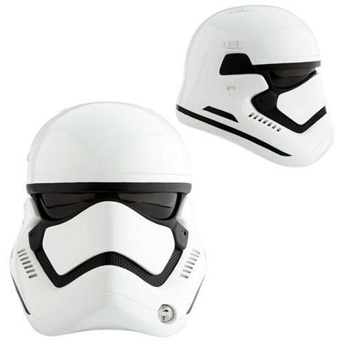 Star Wars: The Force Awakens First Order Stormtrooper Premier Line Helmet Prop Replica