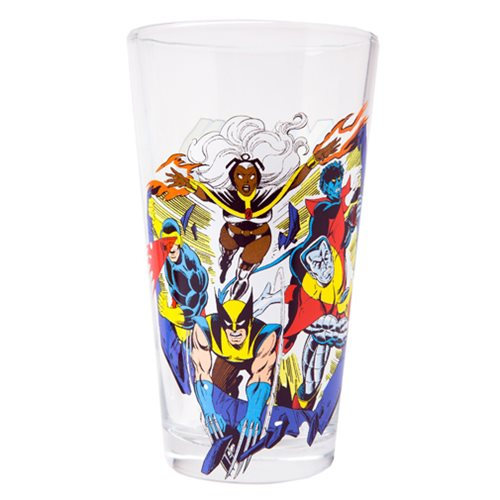 X-Men Classic Collection Toon Tumbler Pint Glass