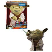 Star Wars Lightsaber Battle Yoda Deluxe 16-Inch Plush