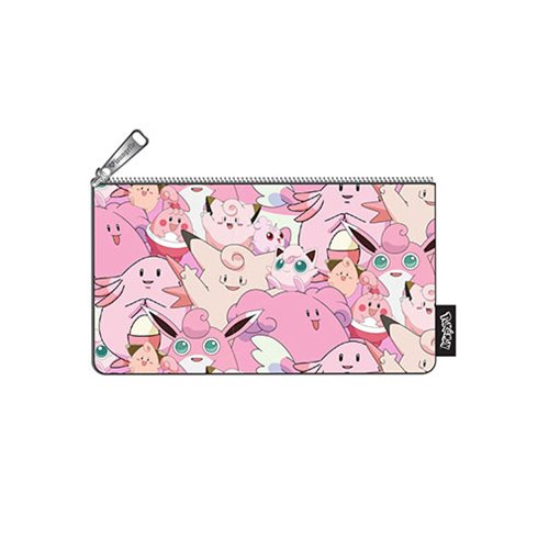 Pokemon Fairy Type Print Pencil Case