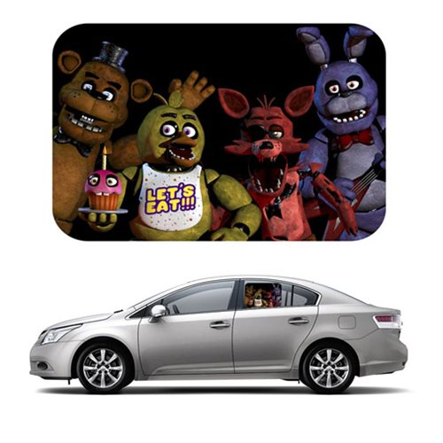 Five Nights At Freddy's Car Sunshades