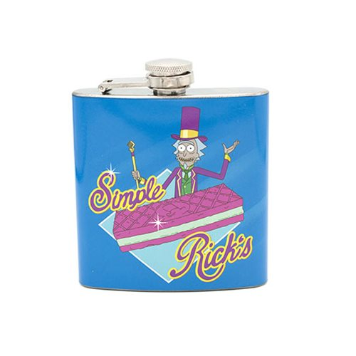 Rick and Morty Simple Rick's Flask