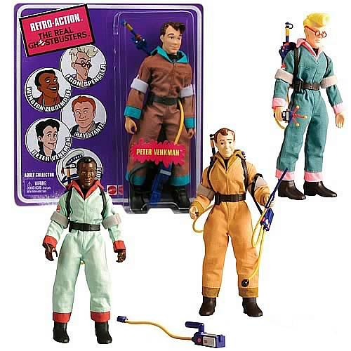 The Real Ghostbusters Retro-Action Wave 1 Figures Set