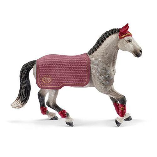 Horse Club Trakehner Mare Riding Tournament Collectible Figure