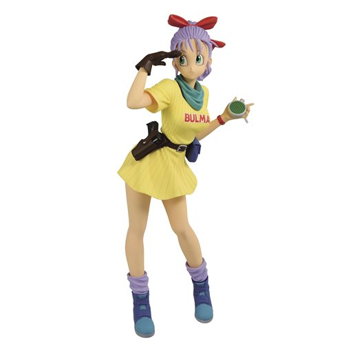 Dragon Ball Bulma III Yellow Version Glitter & Glamours Statue