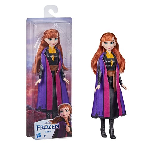 Frozen 2 Forever Shimmer Travel Anna Doll