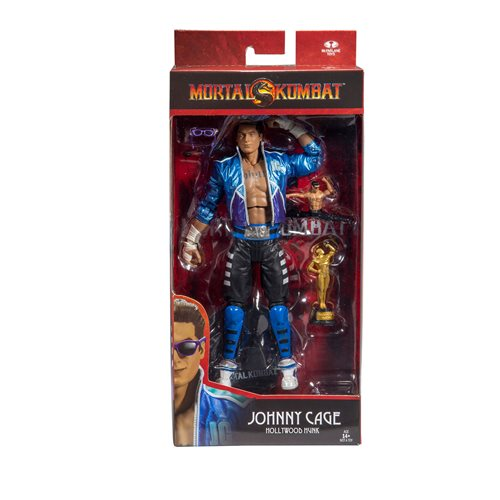 Mortal Kombat Series 2 Johnny Cage 7-Inch Action Figure