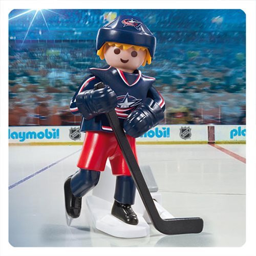 Playmobil 9202 NHL Columbus Blue Jackets Player Action Figure