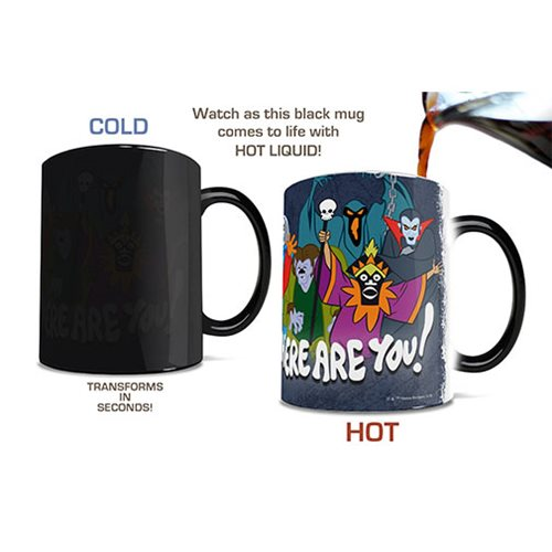 Scooby-Doo Where Are You Heat-Sensitive Morphing Mug
