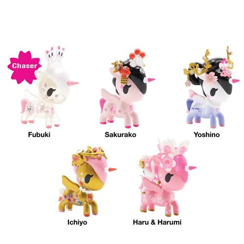 Tokidoki Unicorno Blossom Mini-Figures Blind 8-Pack Tray