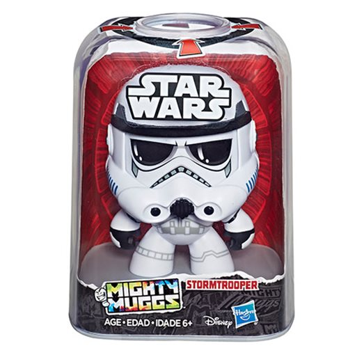 Star Wars Mighty Muggs Stormtrooper Action Figure