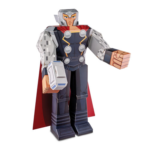 Thor 12-Inch Marvel Blueprints Papercraft