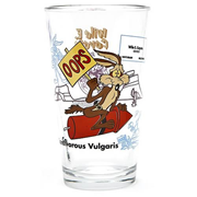 Looney Tunes Wile E. Coyote Toon Tumbler Pint Glass