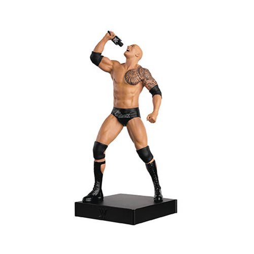 WWE Championship Collection The Rock with Collector Magazine #6