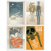 Star Trek The Original Series Fine Art Poster Set 3