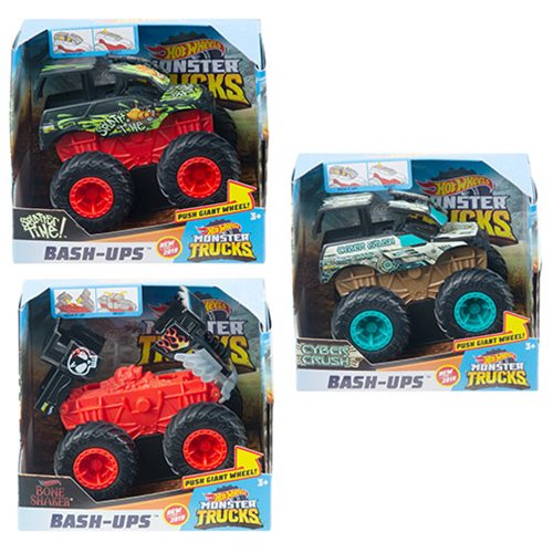 Hot Wheels Monster Trucks 1:43 Scale Bash Ups Mix 1 Case