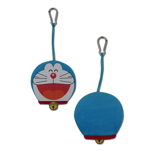 Doraemon Smile Face 3 4/5-Inch Plush Key Chain