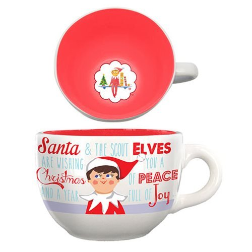 The Elf on the Shelf 20 oz. Ceramic Soup Mug