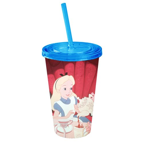 Disney Alice In Wonderland Tea Time 16 oz. Travel Cup
