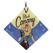 DC Bombshells Black Canary StarFire Prints Hanging Glass Ornament