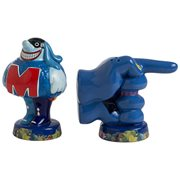 Beatles Yellow Submarine Meanies Sculpted Ceramic Salt and Pepper Set