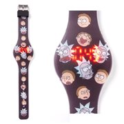 Rick and Morty Expressions LED Watch