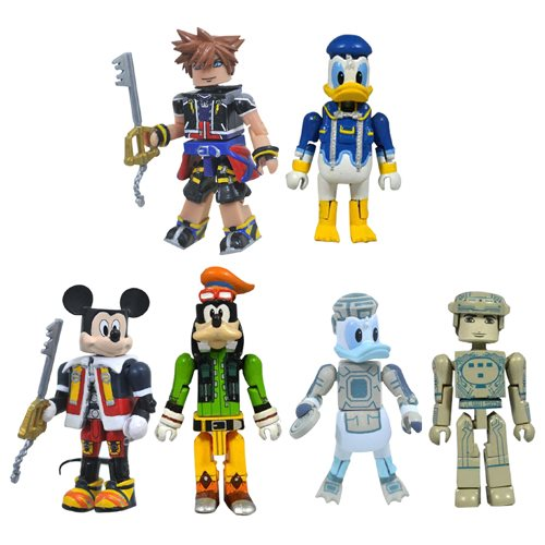 Kingdom Hearts Minimates Series 1 Set