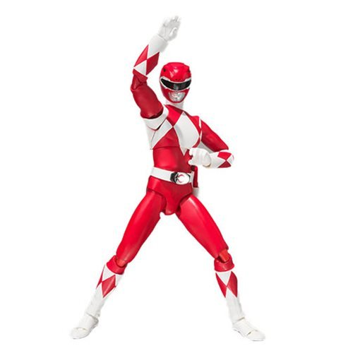 Mighty Morphin Power Rangers Red Ranger SH Figuarts Action Figure - SDCC 2018 Exclusive