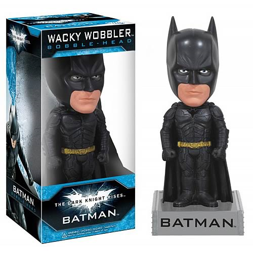 Dark Knight Rises Batman Wacky Wobbler Bobble Head