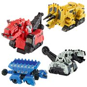 Matchbox Dinotrux Pull Back N Go Vehicles Case