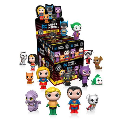 DC Super Heroes and Pets Mystery Minis Series 1 Display Case