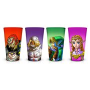 Legend of Zelda: Ocarina of Time Pint Glass 4-Pack