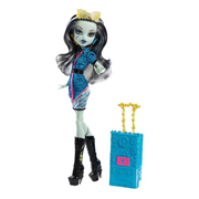 Monster High Frankie Stein Scaris Deluxe Travel Doll