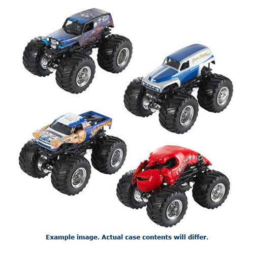 Hot Wheels Monster Jam 1:64 Scale 2017 Wave 2 Case