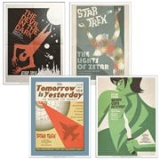 Star Trek The Original Series Fine Art Posters Set 12