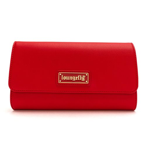 Loungefly Red Pin Trader Crossbody Purse