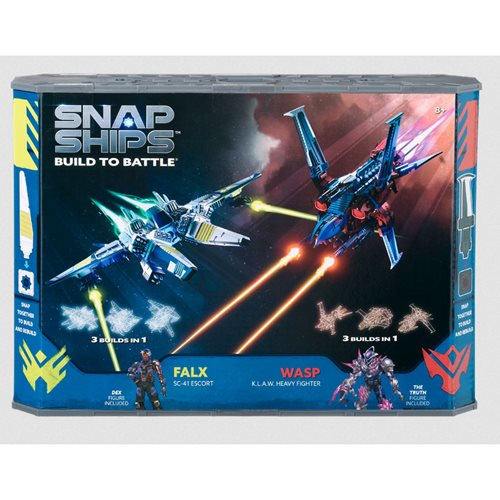 Forge Falx SC-41 Escort and Komplex Wasp K.L.A.W. Heavy Fighter Battle Set of 2